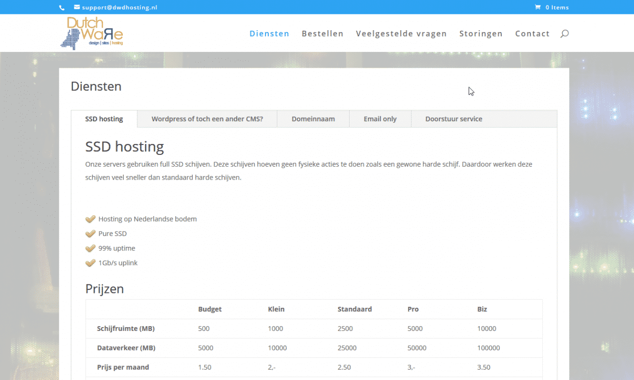 DWDhosting.nl