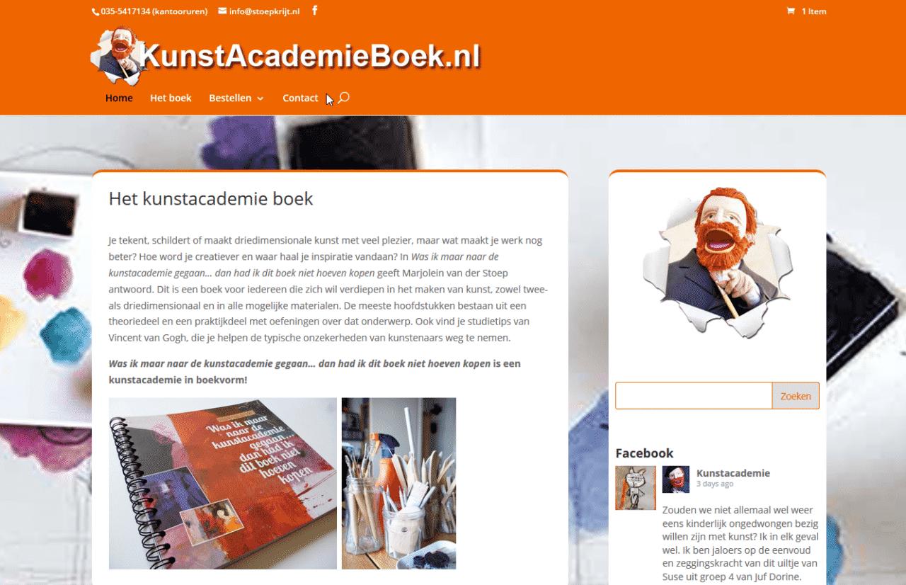 Kunstacademieboek.nl